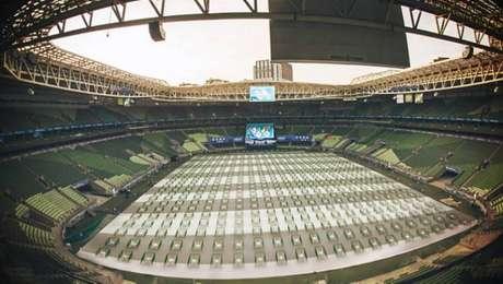 Até 2 mil palmeirenses poderão ir ao estádio para ver o jogo no domingo