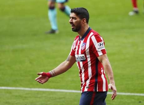 Suárez trocou o Barcelo pelo Atlético de Madrid