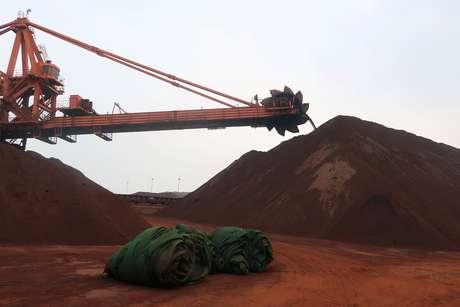 Terminal de minério de ferro no porto de Dalian, China  21/09/2018 REUTERS/Muyu Xu