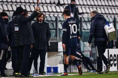 Dybala está lesionado (Foto: Marco BERTORELLO / AFP)