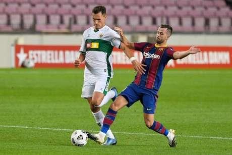 Barcelona venceu o Elche na disputa do Troféu Joan Gamper no início da temporada (Foto: AFP)