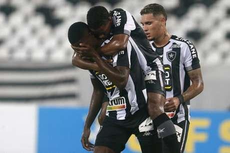 Botafogo conseguiu a primeira vitória em 2021 (Foto: Vítor Silva/Botafogo)