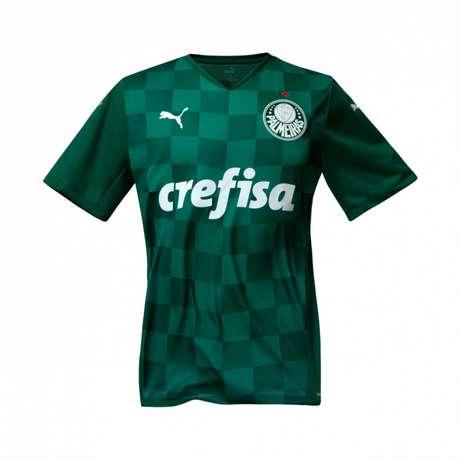 Camisa verde do Palmeiras 2021 (Foto: Divulgação)