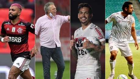 O Brasileirão 2020 se encaminha para a última rodada com promessa de emoção (Divulgação)