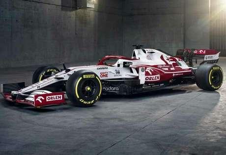 Mais detalhes do novo carro da Alfa Romeo para 2021, que contará com novo motor Ferrari