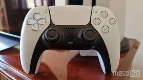 Controle DualSense do PlayStation 5