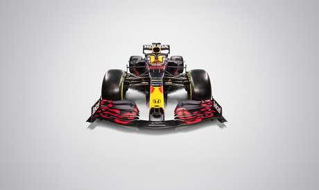 O novo carro da Red Bull visto por outro ângulo