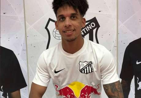 Formado no Palmeiras, Vitinho está emprestado ao Red Bull Bragantino (Foto: Divulgação/Red Bull Bragantino)