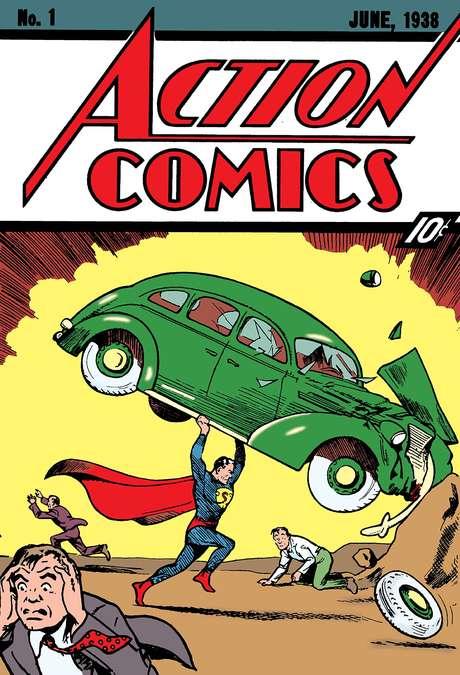 Em 2014 uma cópia da Action Comics #1 foi vendida por US$3.2 milhões.