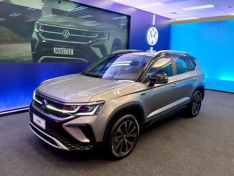 Volkswagen Taos tem um sistema de faróis inteligentes com tecnologia IQ.Light.