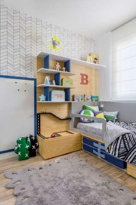 30. Decoração de quarto para criança menino – Foto: MamãeAchei!