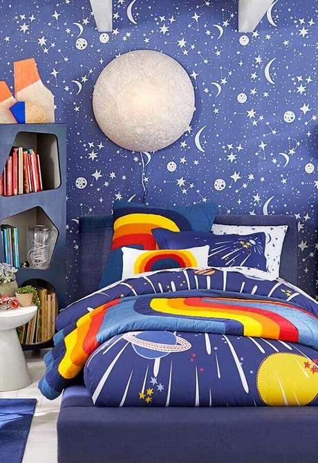 28. Que tal investir em uma decoração temática no quarto para crianças? – Foto: Home Fashion Trend