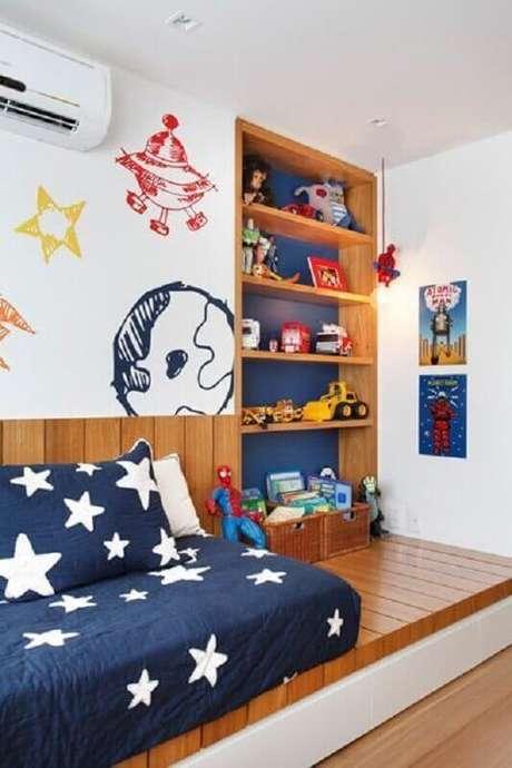 3. Prefira uma base em cores claras para a decoração de quarto para criança pequeno – Foto: Arkpad