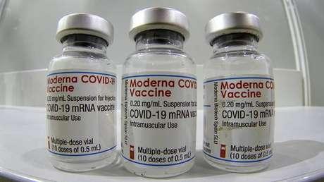 Moderna entregou novas vacinas para testes contra a variante sul-africana
