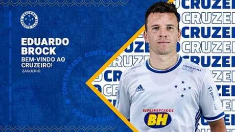 Brock fica no Cruzeiro até maio de 2022, término do Campeonato Mineiro-((Divulgação/Cruzeiro)