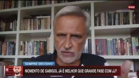 Fábio Sormani durante o 'BB: Debate' (Reprodução/ESPN)
