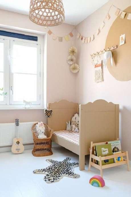 38. Decoração de quarto para criança simples – Foto: Pinterest