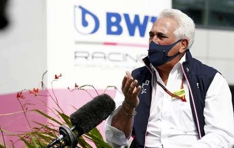 Lawrence Stroll é o dono da Racing Point/Aston Martin