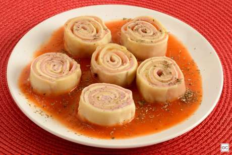 Guia da Cozinha - Receita de rondelli com massa de pastel