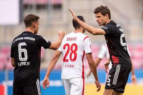 No primeiro turno, Bayern venceu o Colônia, mas com dificuldades (Marius Becker / POOL / AFP)