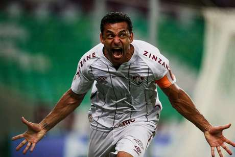 Fred marcou o primeiro gol do Fluminense no jogo com o Fortaleza (Foto: LUCAS MERÇON / FLUMINENSE F.C.)