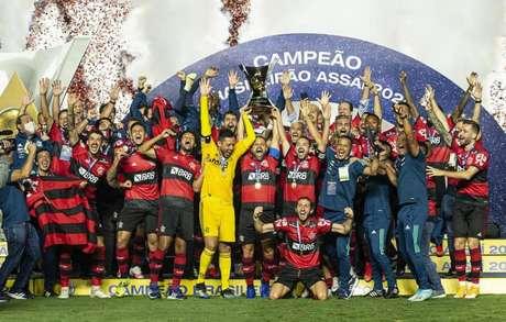 O Flamengo conquistou o Campeonato Brasileiro de 2020 (Foto: Alexandre Vidal/Flamengo)