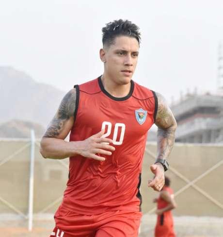 Dudu teve passagens marcantes enquanto esteve no futebol Árabe (Divulgação/Dibba Al Fujairah)