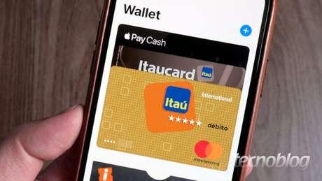 Cartões de crédito no Apple Pay