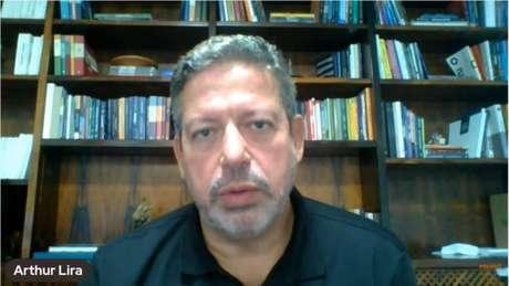 Arthur Lira participou de um evento virtual do Grupo Prerrogativas, que reúne profissionais da área doDireito.