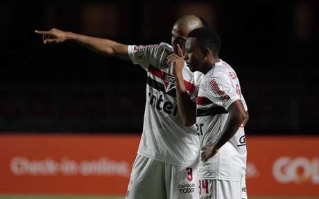 Welington estreou contra o Flamengo, no Morumbi (Foto: Rubens Chiri/ São Paulo FC)