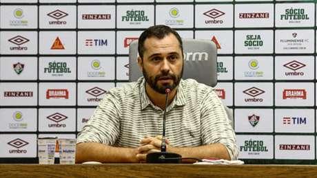 Mário Bittencourt, presidente do Fluminense (Foto: LUCAS MERÇON/ FLUMINENSE F.C.)