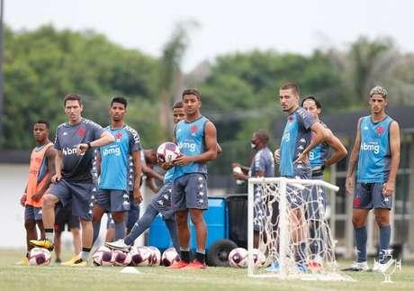 O Vasco iniciou sua preparação para o Campeonato Carioca (Foto: Divulgação/Vasco)