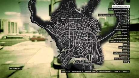 Procure pelas barbearias espalhadas no mapa de Los Santos para uma mudança no cabelo e barba