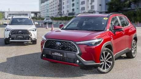 Toyota Corolla Cross já está prontinho para estrear no mercado brasileiro e terá quatro versões.