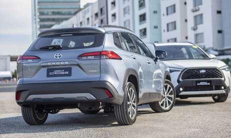 Lançado inicialmente na Tailândia, Toyota Corolla Cross terá porta-malas de 440 litros.