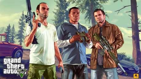 Alterne entre os personagens que você deseja controlar em GTA 5