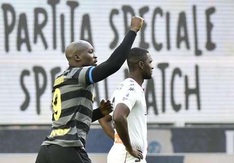 Lukaku foi o grande destaque da Inter de Milão