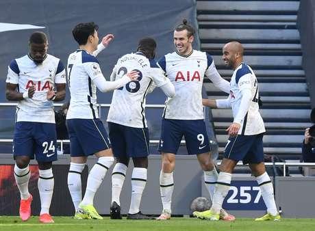 Bale foi o grande destaque do Tottenham