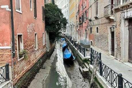 Fenômeno não é incomum durante o inverno na Itália