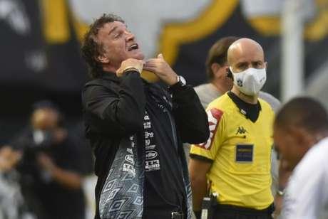 Vice-campeão da Liberta e 8º no Brasileirão, Cuca comandou o Santos em 2020/21 (Ivan Storti/Santos)