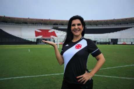 Vanessa Riche é o novo reforço da VascoTV (Foto: João Pedro Isidro/Vasco)