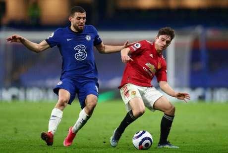 Chelsea e Manchester United ficaram no empate (Foto: CLIVE ROSE / POOL / AFP)