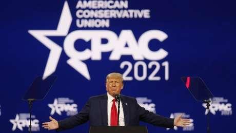 Trump abriu as portas para ser candidato à presidência novamente em 2024