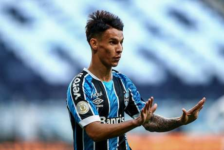 Jovem Ferreirinha entrou no segundo tempo e movimentou a defesa do Palmeiras (Foto: Lucas Uebel/Grêmio FBPA)