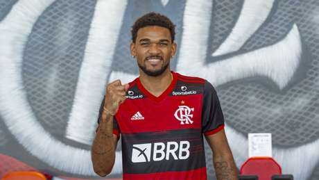 Bruno Viana é o primeiro reforço do Fla para 2021 (Foto: Alexandre Vidal/Flamengo)