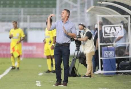 Mancini analisou a partida (Foto: Rodrigo Coca/Ag. Corinthians)