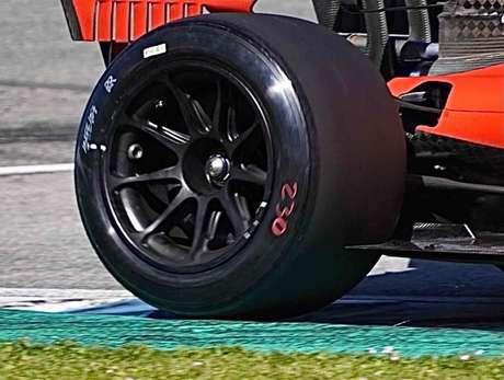 Detalhe dos novos compostos da Pirelli para 2022