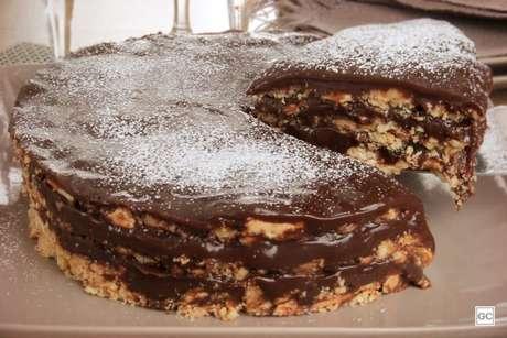 Guia da Cozinha - Receita de torta de palha italiana fácil