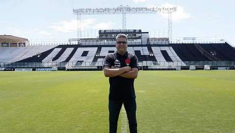 Marcelo Cabo, técnico do Vasco, quer aproveitar a Taça Rio para a preparação do time visando à Copa do Brasil e à Série B do Brasileiro