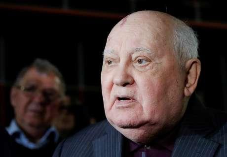 Ex-presidente soviético Mikhail Gorbachev em Moscou 08/11/2018 REUTERS/Tatyana Makeyeva/